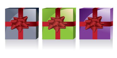 Vector gift box Vector