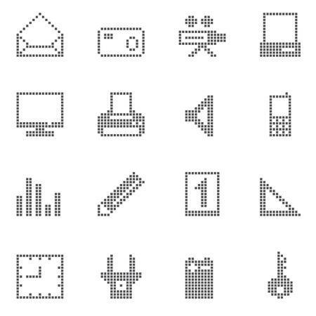 square office and home icon Vector