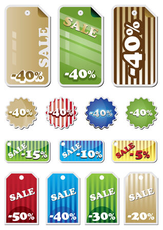 Promotion Shopping Marks Vector