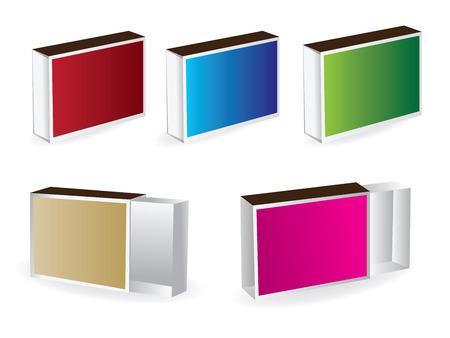 box of matches: box matches