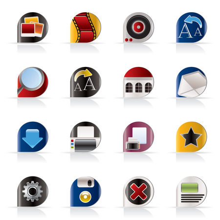 Internet and Website Icons - Vector Icon Set Stock Vector - 5377145