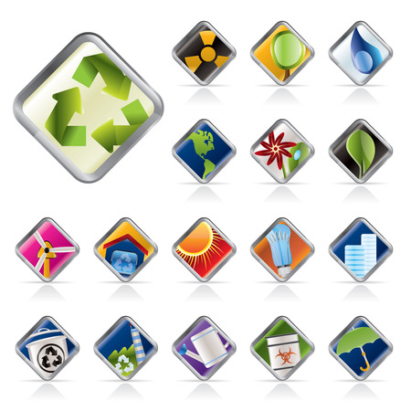 Realistic Icon - Ecology - Set for Web Applications - Vector Stock Vector - 5408877