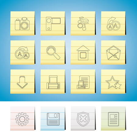 Internet and Website Icons  Set Stock Vector - 6399082