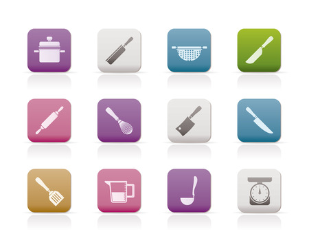 colander: Cooking equipment and tools icons