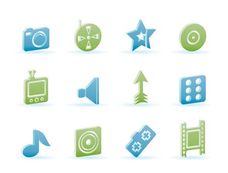 Entertainment Icons - Icon Set Vector