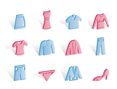 Clothing Icons - Icon Set Stock Vector - 6910133