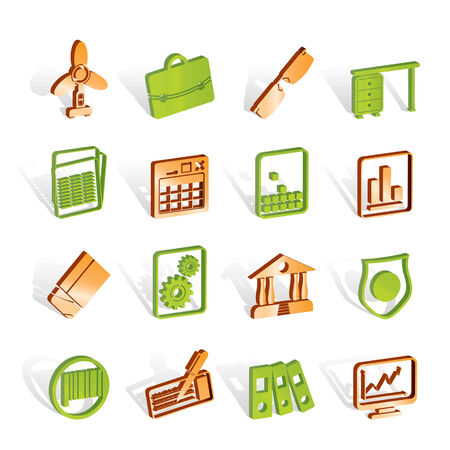 Business and Office Icons - Vector Icon Set 2 Stock Vector - 6910181