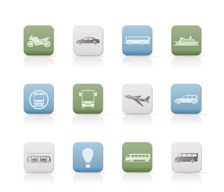 motorbus: Viajes y transporte de los iconos de personas