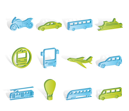 motorbus: Travel and transportation of people icons - icon set