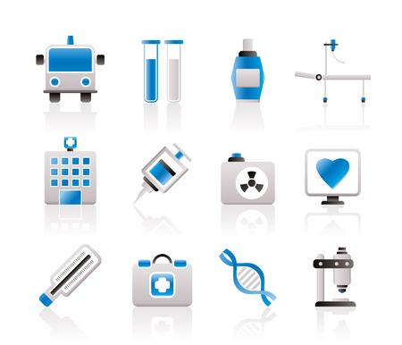 Medicine and healthcare icons - icon set Stock Vector - 7071406