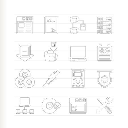 server side: Server Side Computer icons