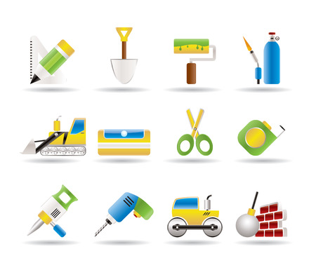 prick: building and construction icons - vector icon set 2