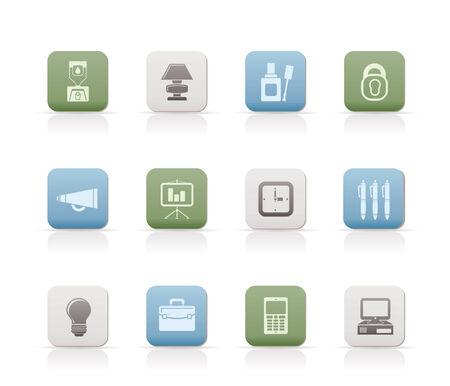 correttore: Icone di ufficio e business