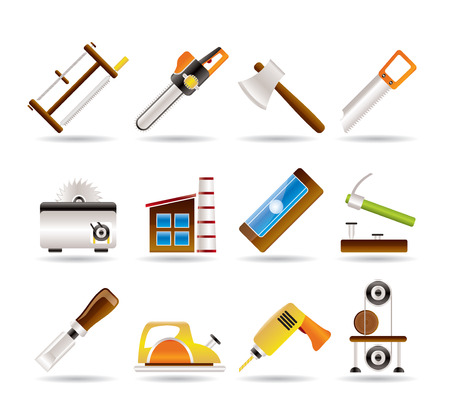 impact tool: Woodworking industry and Woodworking tools icons