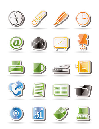 copy machine: Simple Office tools icons