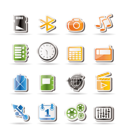 polyphony: Phone  Performance, Internet and Office Icons