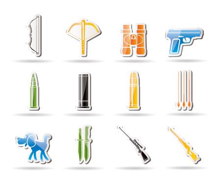 armbrust: Jagd und Arme-Ikonen
