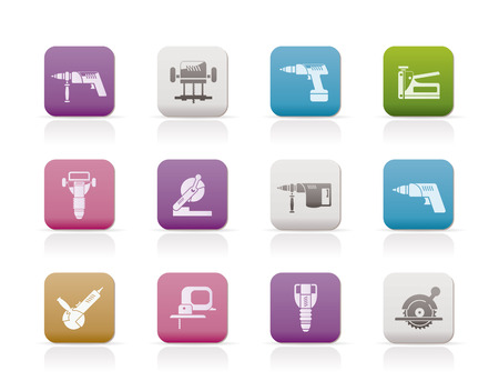 vise: Building and Construction Tools icons