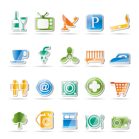 climatic: Hotel and Motel objects icons