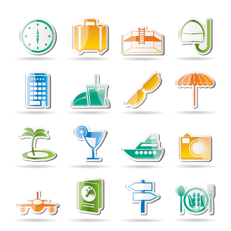 valise: travel, trip and tourism icons - icon set