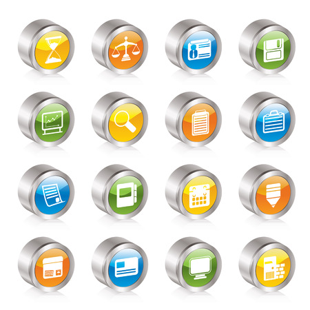 Business and office  Icons  Stock Vector - 8130891