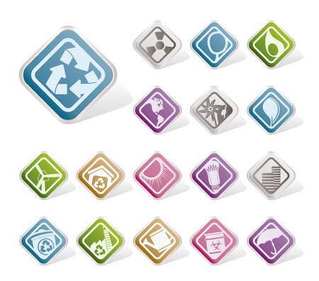 Ecology and nature icons icons  Vector