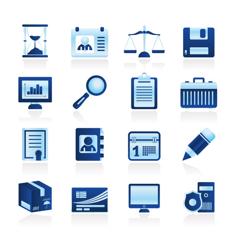law office: Simple Business and office  Icons