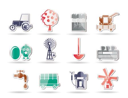 俵: 養殖産業および農業のツール アイコン  イラスト・ベクター素材