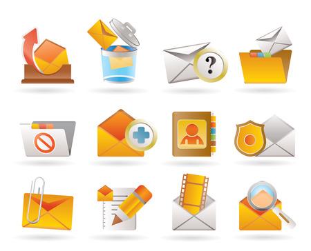 archiv: E-Mail und Nachrichtenikonen