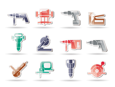 vise: Building and Construction Tools icons - Icon Set
