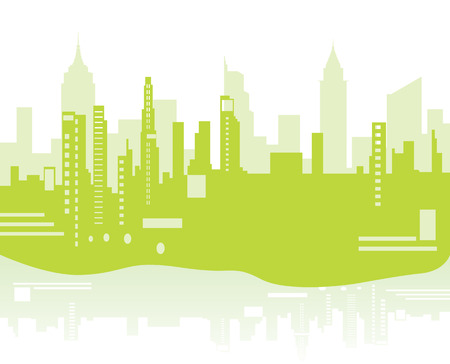 green city background Vector