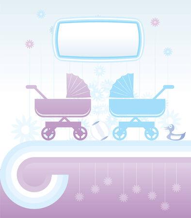gemelos ni�o y ni�a: Fondo de beb� y los ni�os