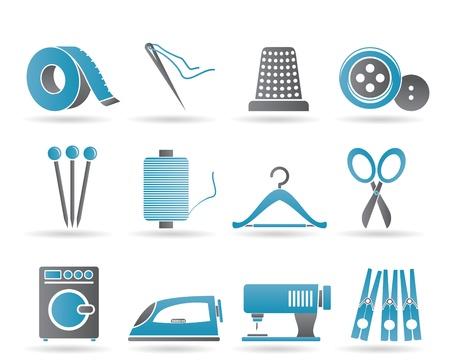 Textile Objekte und Industrie
