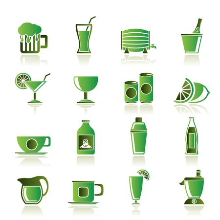 lime juice: beverages and drink icons