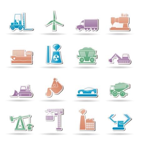 kopalni: Ikony przemysłu i biznesu