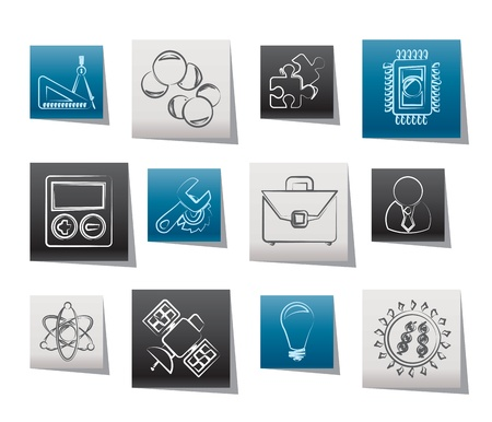 Science and Research Icons - Vector Icon set Stock Vector - 10951875