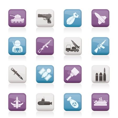 탄약: 군대, 무기 및 팔 아이콘