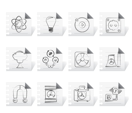fission: Atomic and Nuclear Energy Icons
