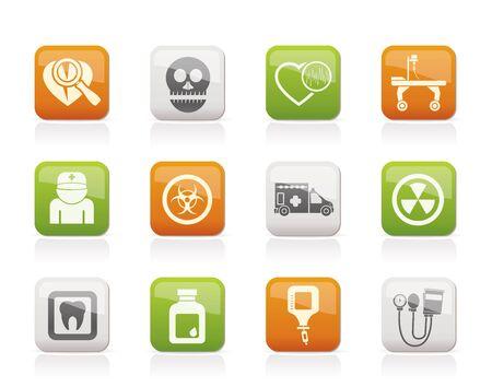 spital ger�te: Medizin und Krankenhaus-Ikonen
