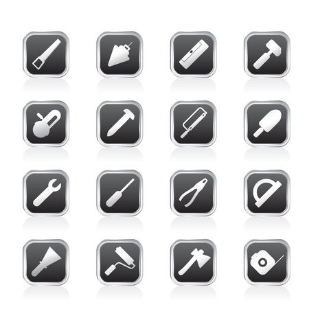 Construction and Building Tools icons - Vector Icon Set Stock Vector - 11497210