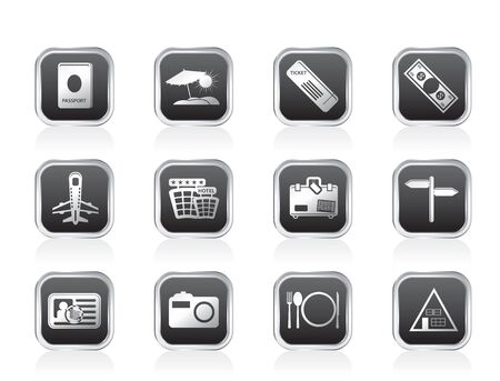 Travel and trip Icons- Vector Icon Set Stock Vector - 11497206