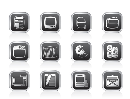 Media icons - Vector Icon Set Vector