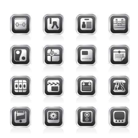 Business and Internet Icons - Vector Icon Set Vector