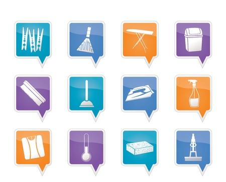 sanificazione: Oggetti per la casa e strumenti di icone