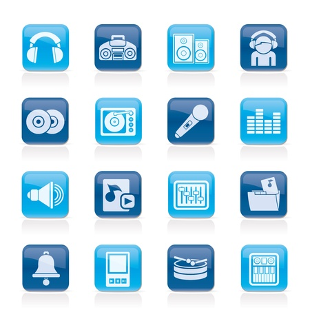 Music and sound Icons - Icon Set