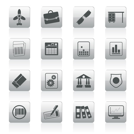 archive site: Business and Office Icons - Vector Icon Set 2