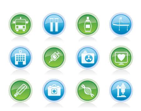 Medicine and healthcare icons - vector icon set Stock Vector - 12481432
