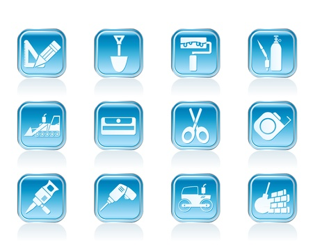 breaker: building and construction icons - vector icon set 2