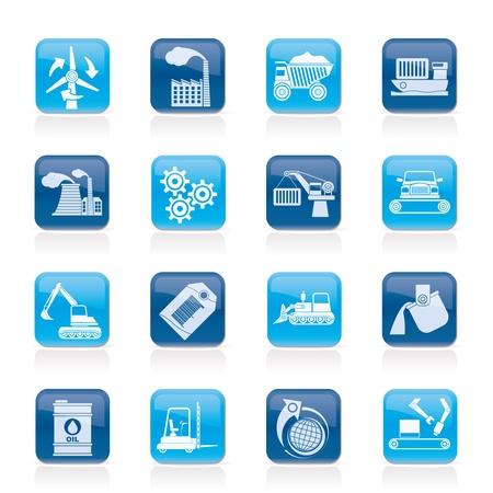 andere Art von Wirtschaft und Industrie Icons - Vector Icon Set Vektorgrafik