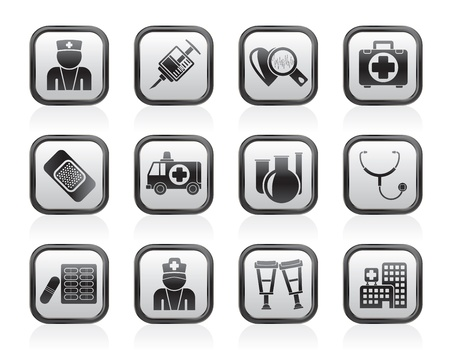 medico: Medicine and healthcare icons - vector icon set